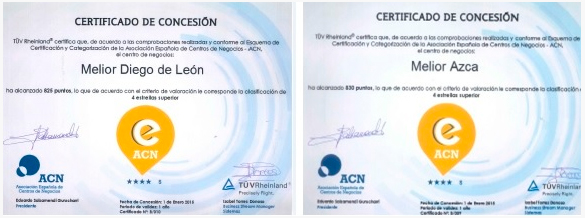 Melior Madrid Certificados de Concesión