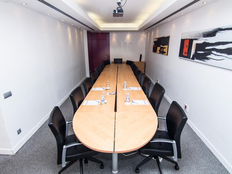 organizar sala reuniones
