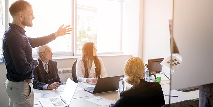 Pautas para presentaciones empresariales